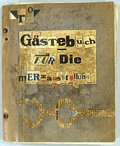 VisiTors' Book OF The mERz ExhibitioN in Hildesheim, 1922