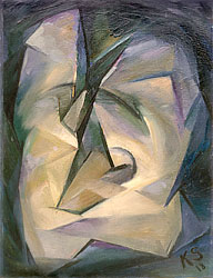 Kurt Schwitters, Abstraction No 9 (Bow Tie), 1918