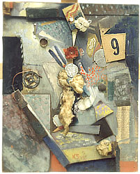 Kurt Schwitters, Untitled (Merz Picture 9), 1943